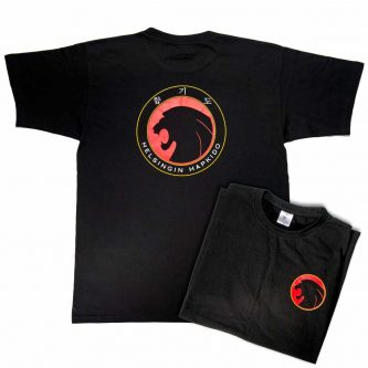 Helsingin Hapkido, t-paita, musta